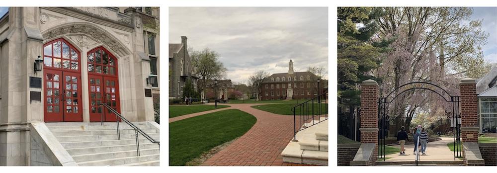 college visits instagram photos