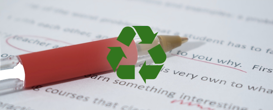 Recycled Content: Same Essay, Different College Application